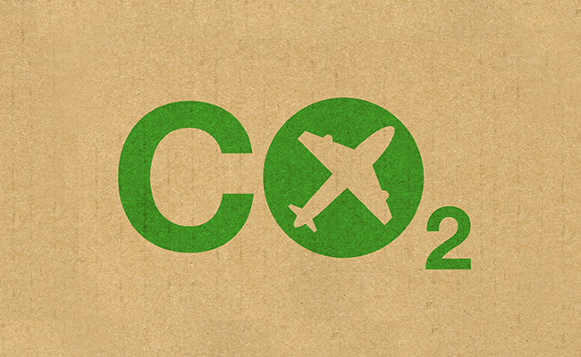 co2 emission targets in aviation industry
