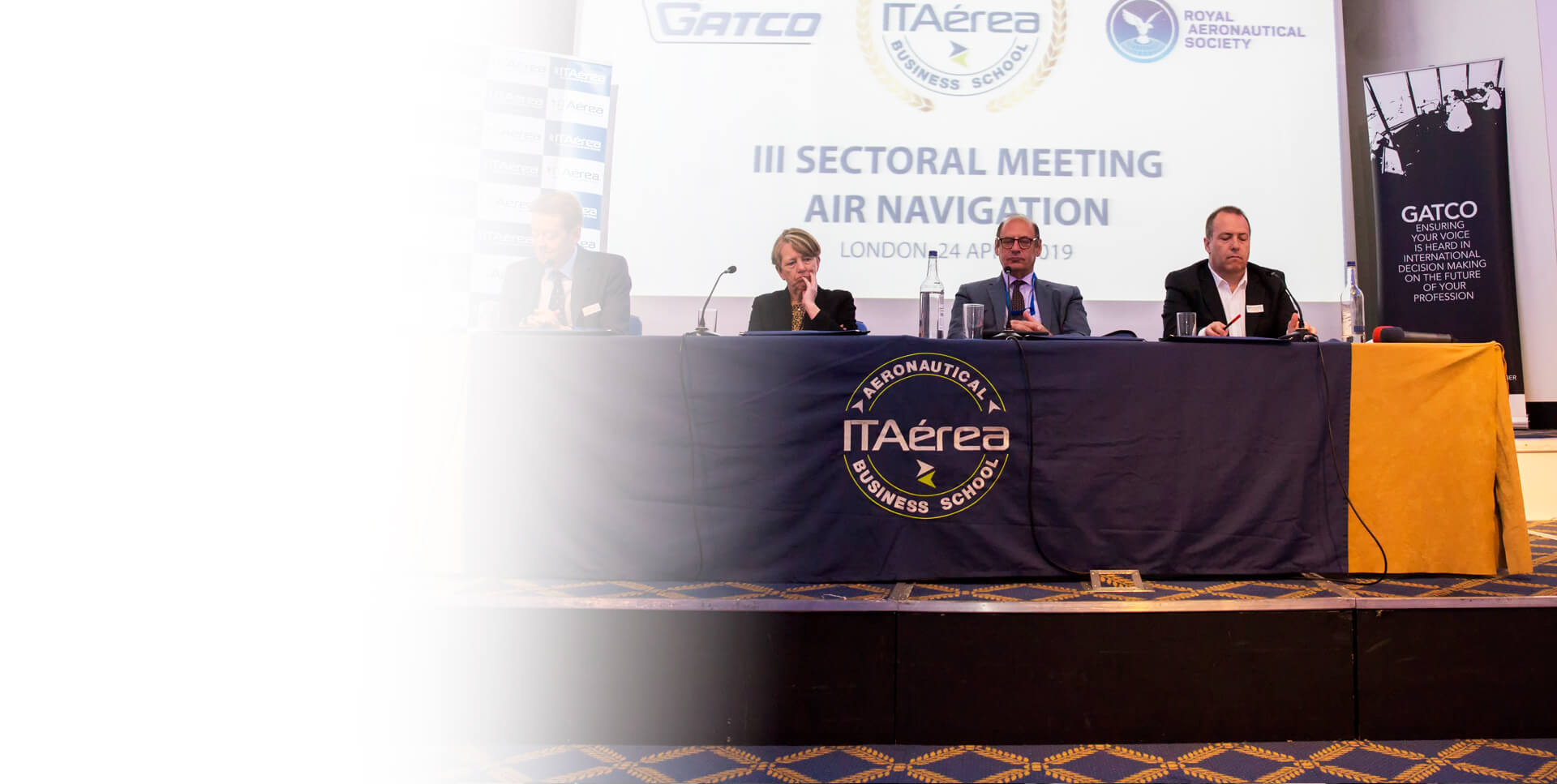 <span class='negritaslide'>Highlights of the<br />III Sectoral Meeting on<br />Air Navigation organised <br />by ITAérea in the</span>