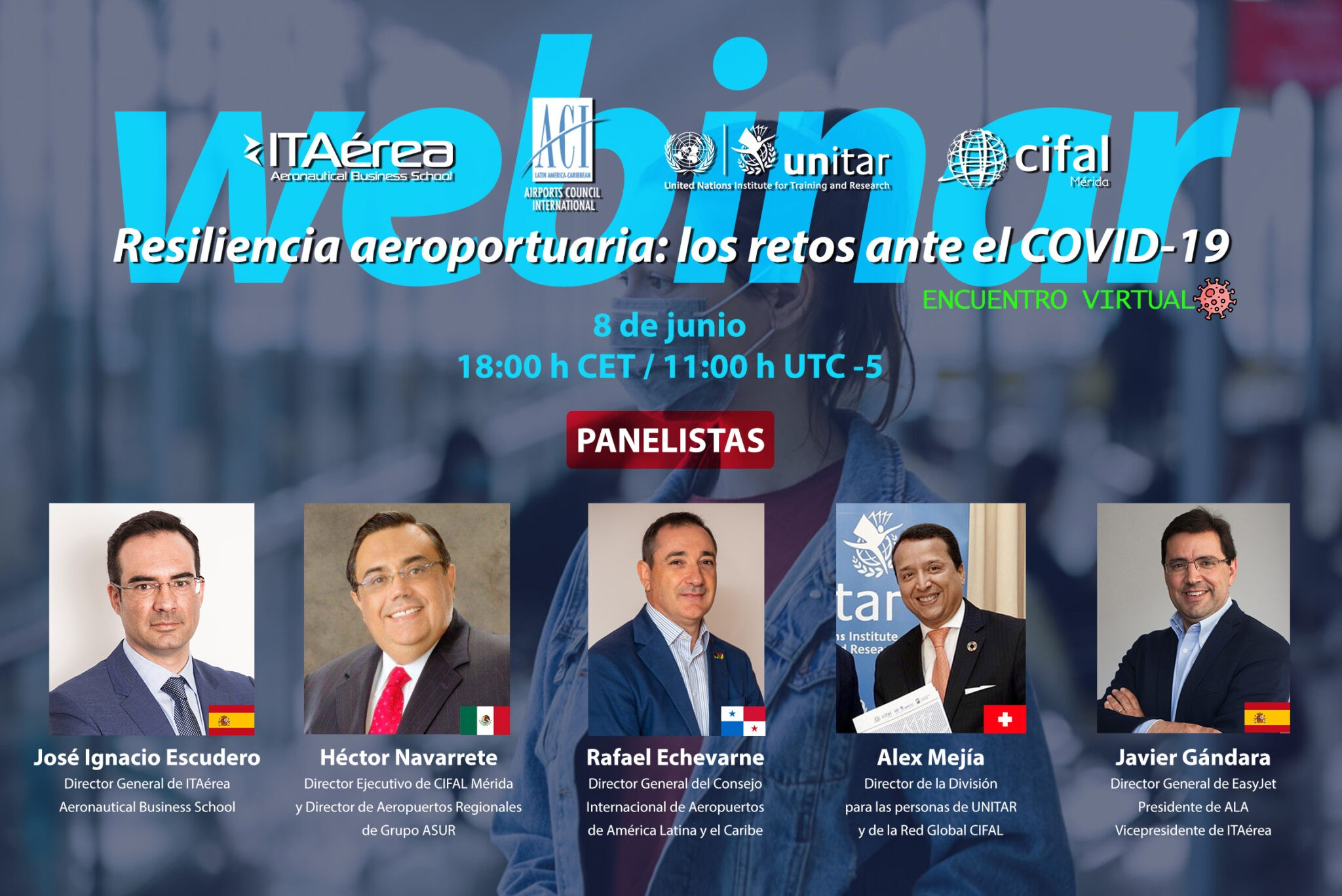WEBINAR ACI LAC 8 junio 2 - V Sector Meeting: Airports